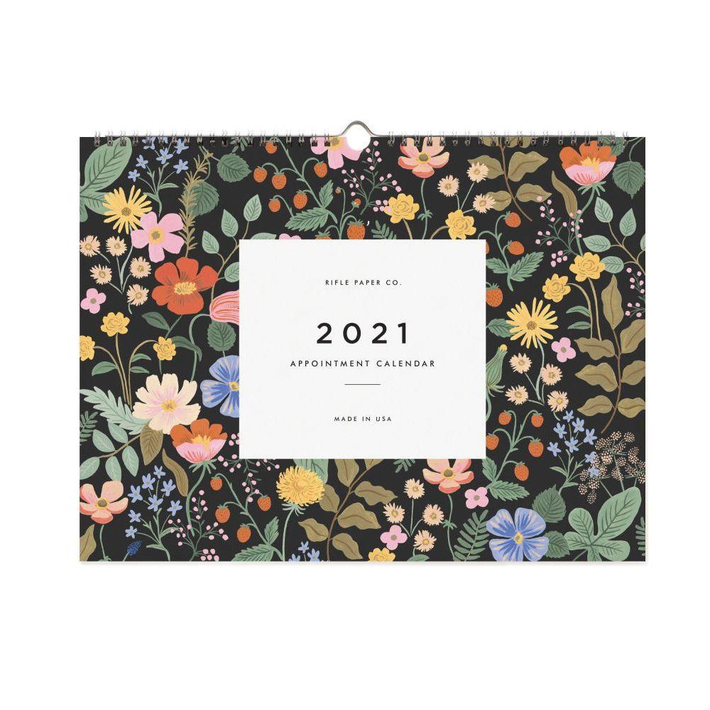 2021 Garden Appointment Wall Calendar
