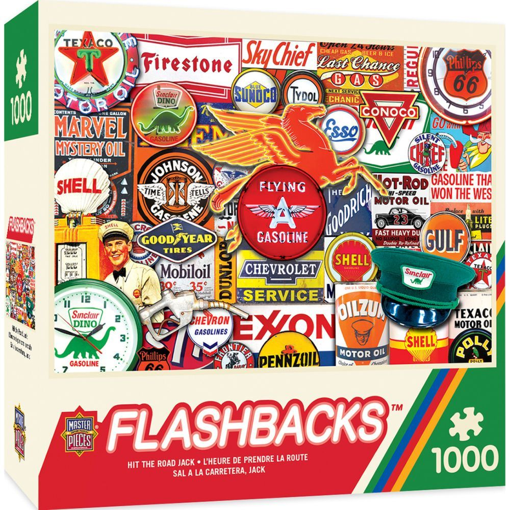 Best Hit the Road Jack 1000pc Puzzle You Can Buy