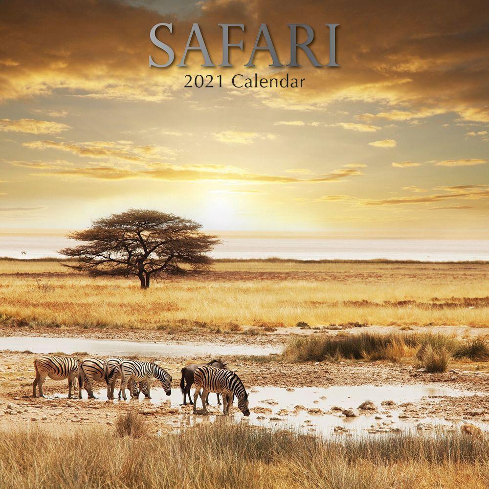 2021 Safari Wall Calendar