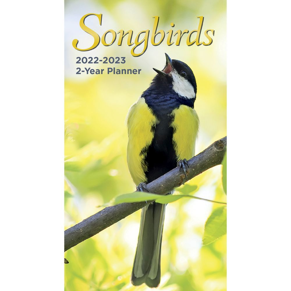 Songbirds 2022 Two Year Planner