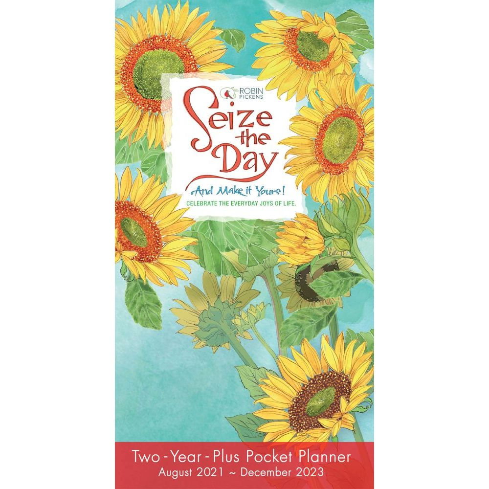 Seize the Day 2022 Two Year Pocket Planner