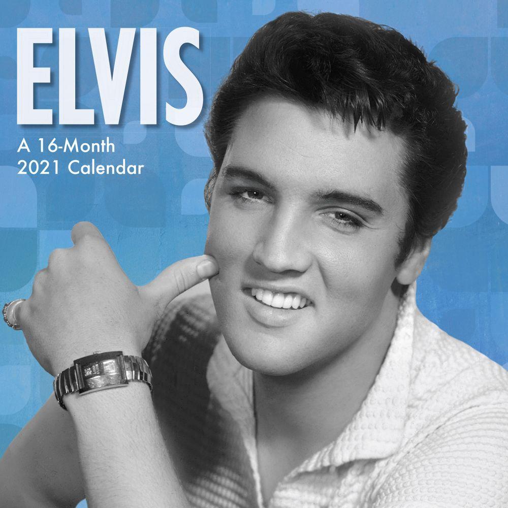 2021 Elvis Mini Wall Calendar
