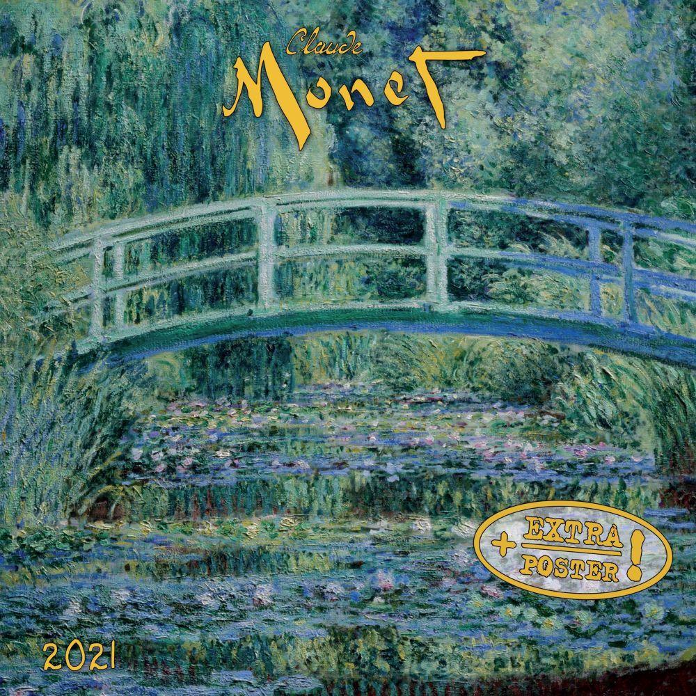 2021 Monet Tushita Sm Wall Calendar
