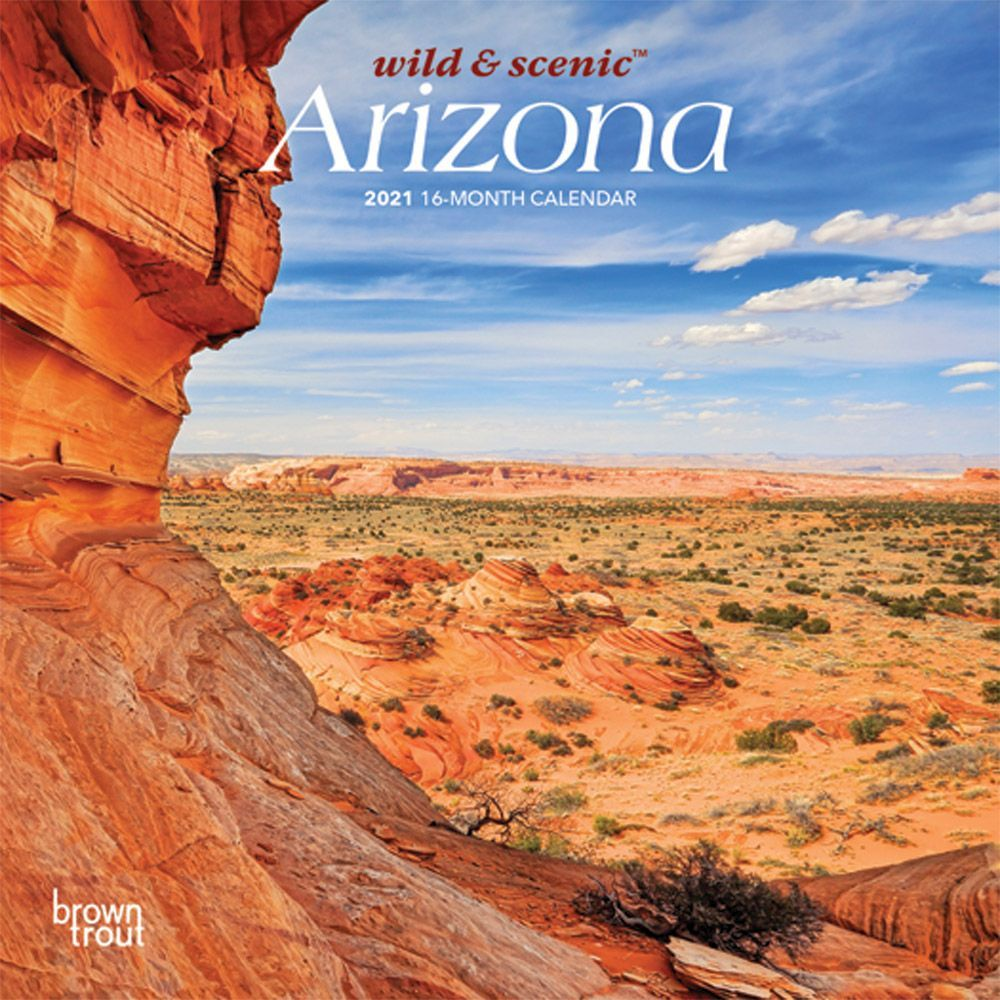 Arizona 2021 Mini Wall Calendar
