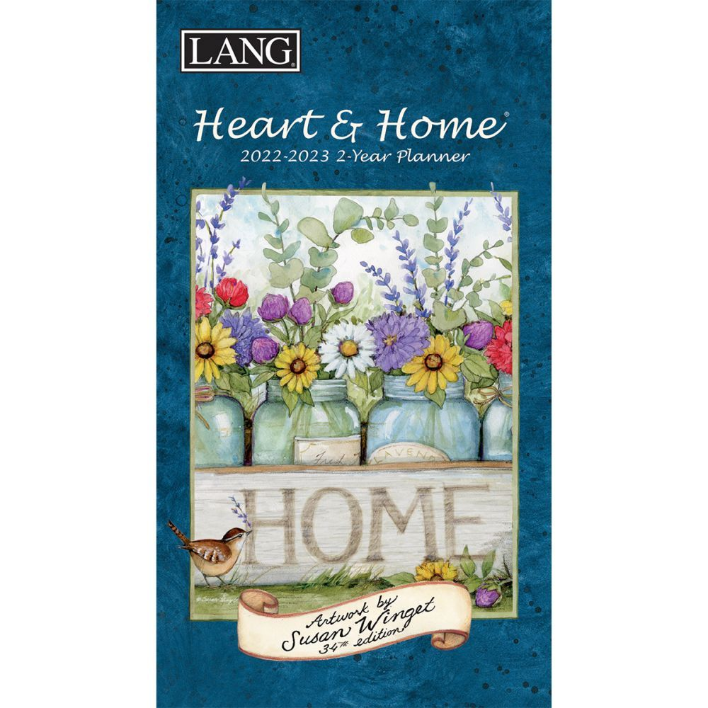 Heart and Home 2022 Two Year Planner