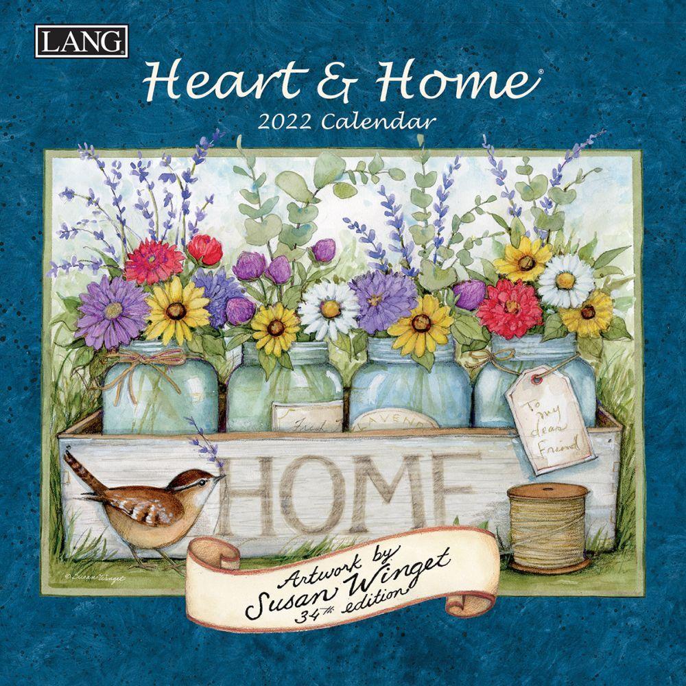 Susan Winget Heart & Home 2022 Mini Wall Calendar