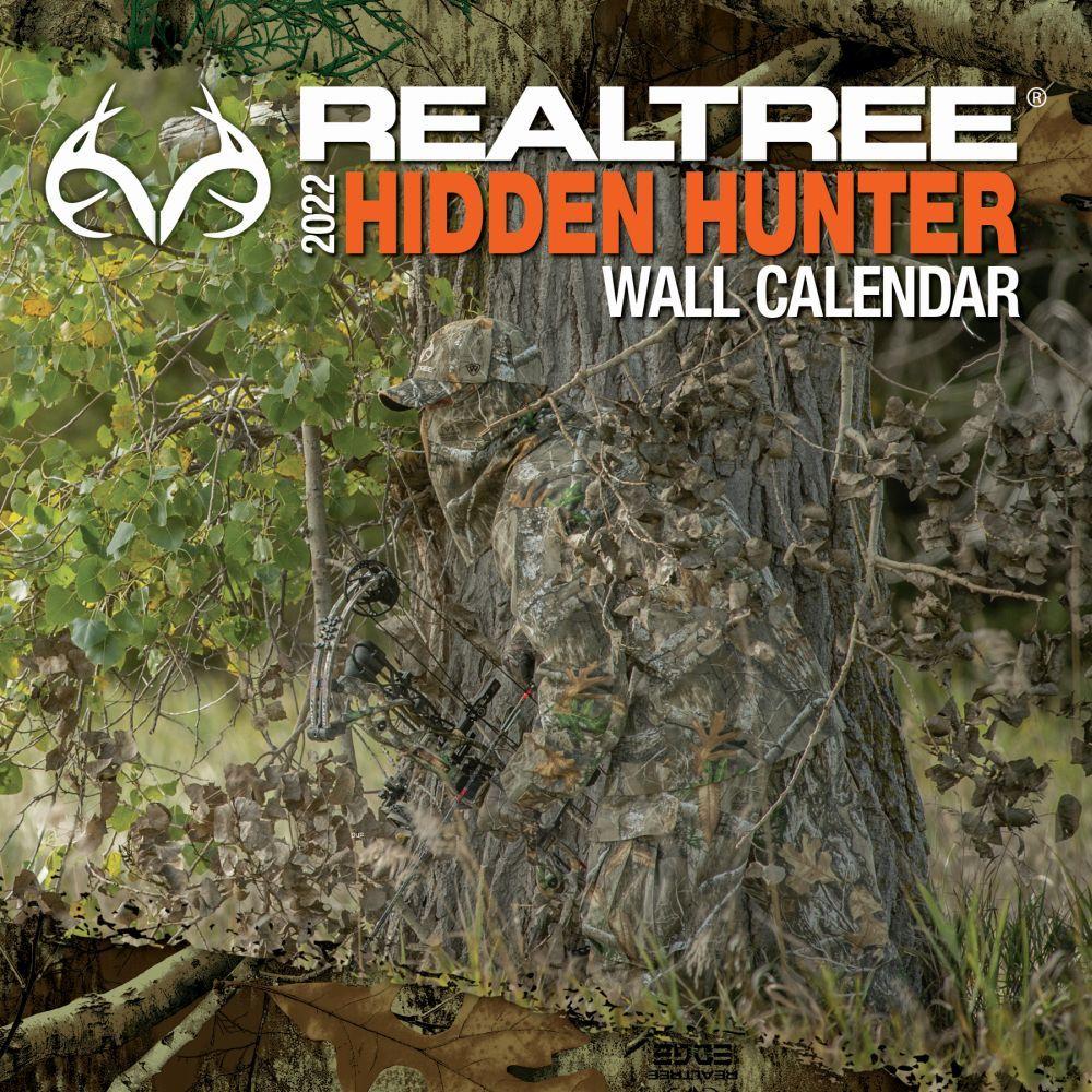 Realtree Hidden Hunter 2022 Wall Calendar