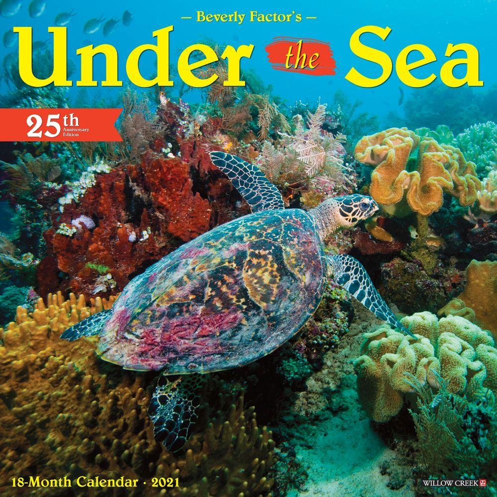 Under the Sea 2021 Wall Calendar