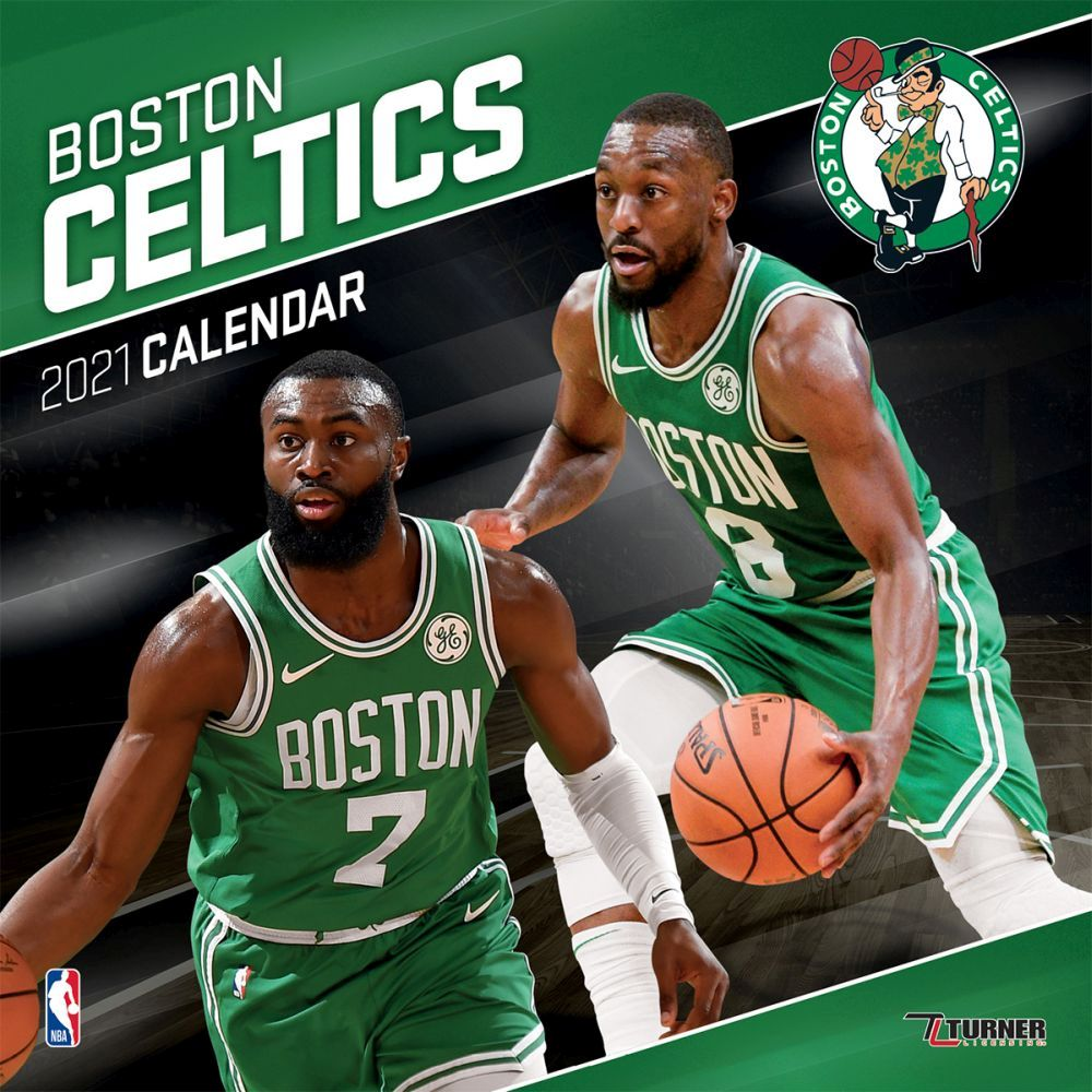 2021 Boston Celtics Wall Calendar