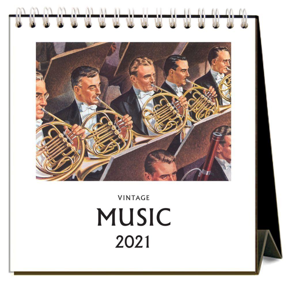 2021 Music Easel Calendar