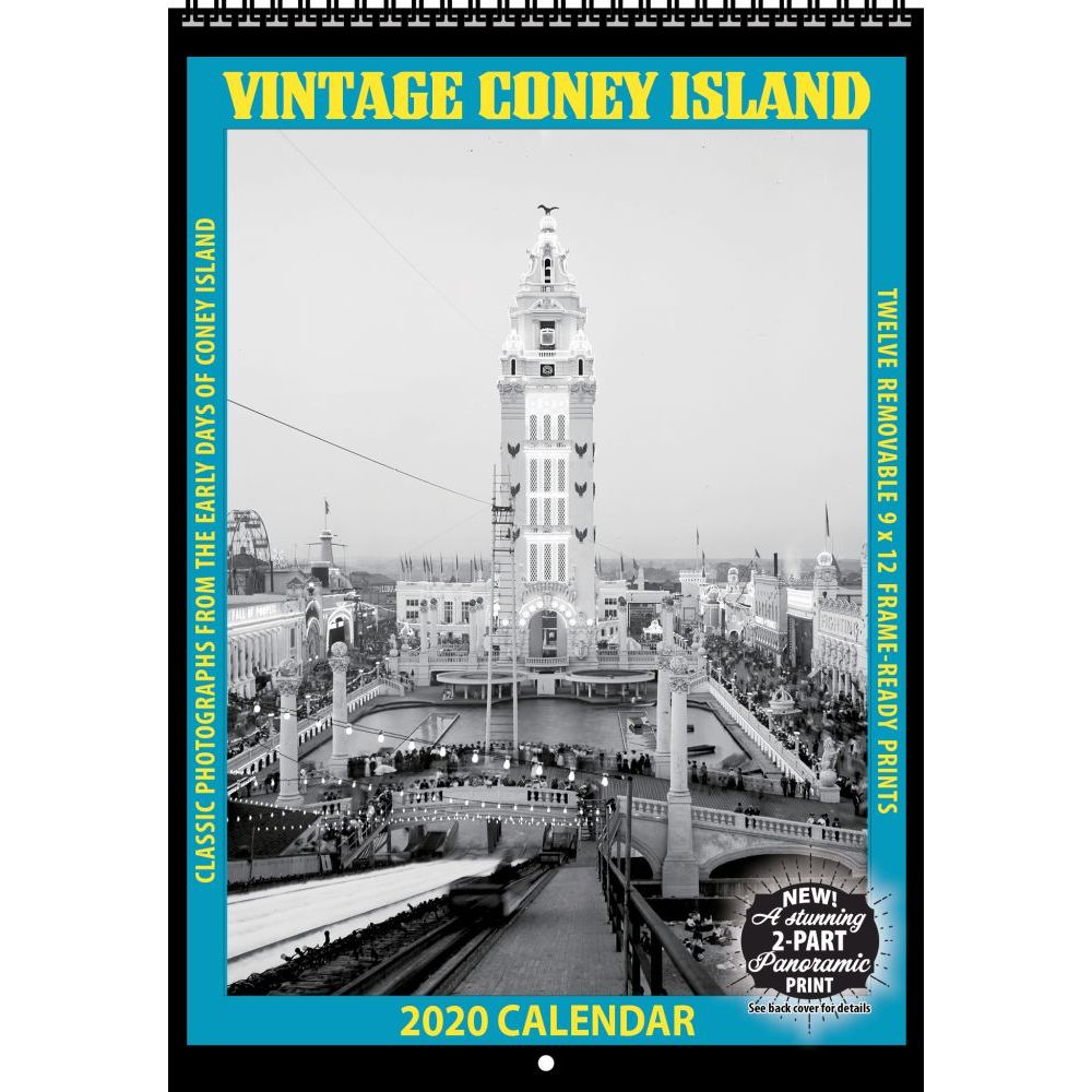 Coney Island Vintage 2021 Wall Calendar