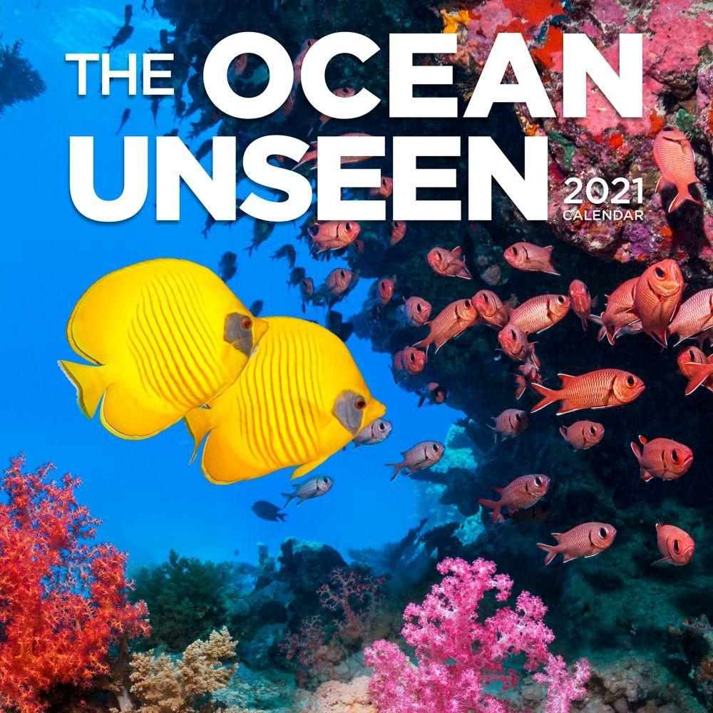 Ocean Unseen 2021 Wall Calendar