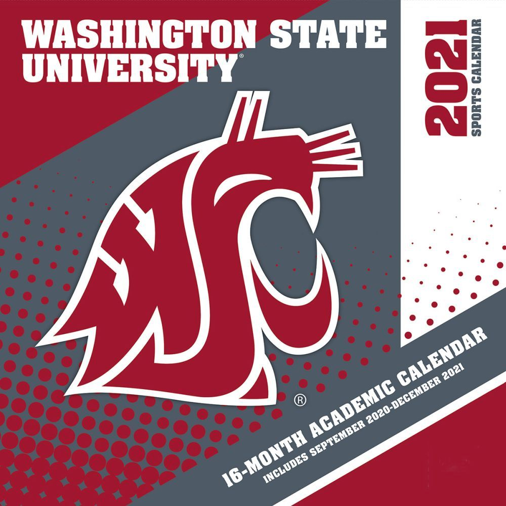 Washington State University Cougars 2021 Wall Calendar