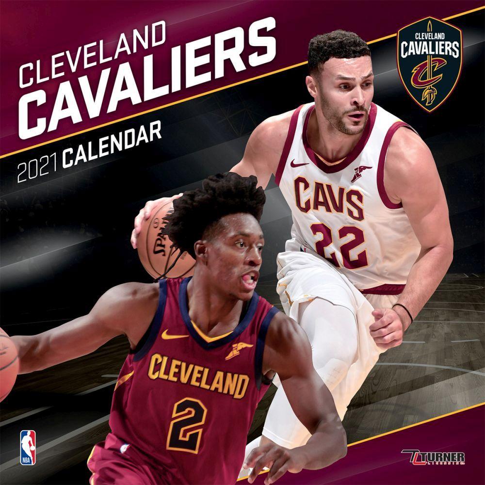 2021 Cleveland Cavaliers Team Wall Calendar