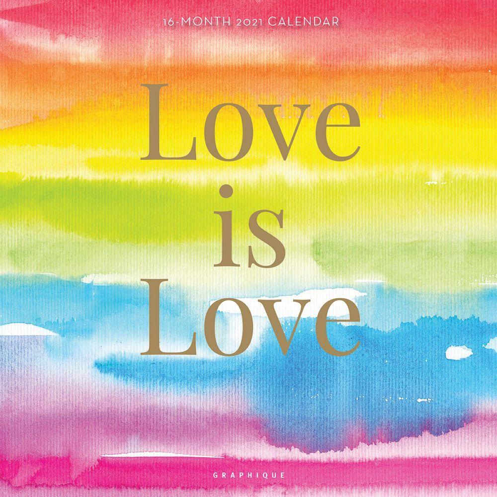 2021 Love is Love Wall Calendar