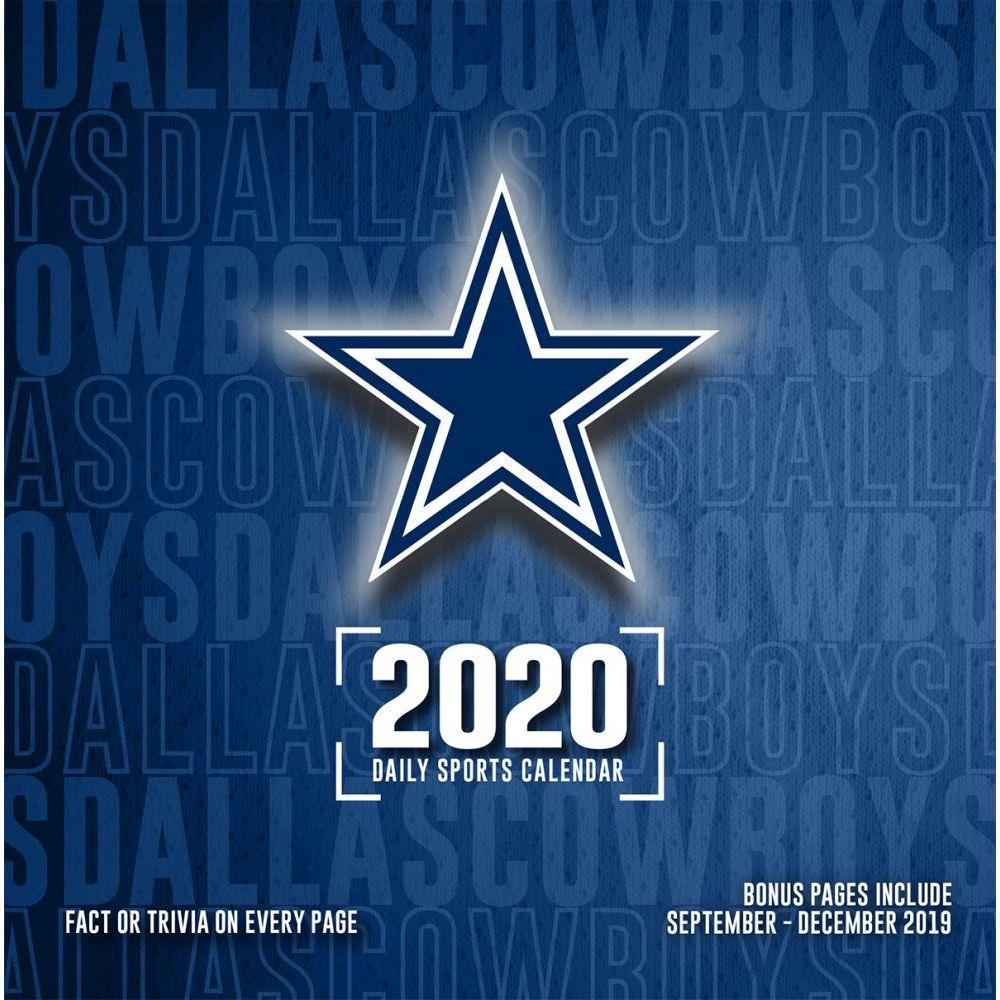 Dallas Cowboys 2021 Desk Calendar