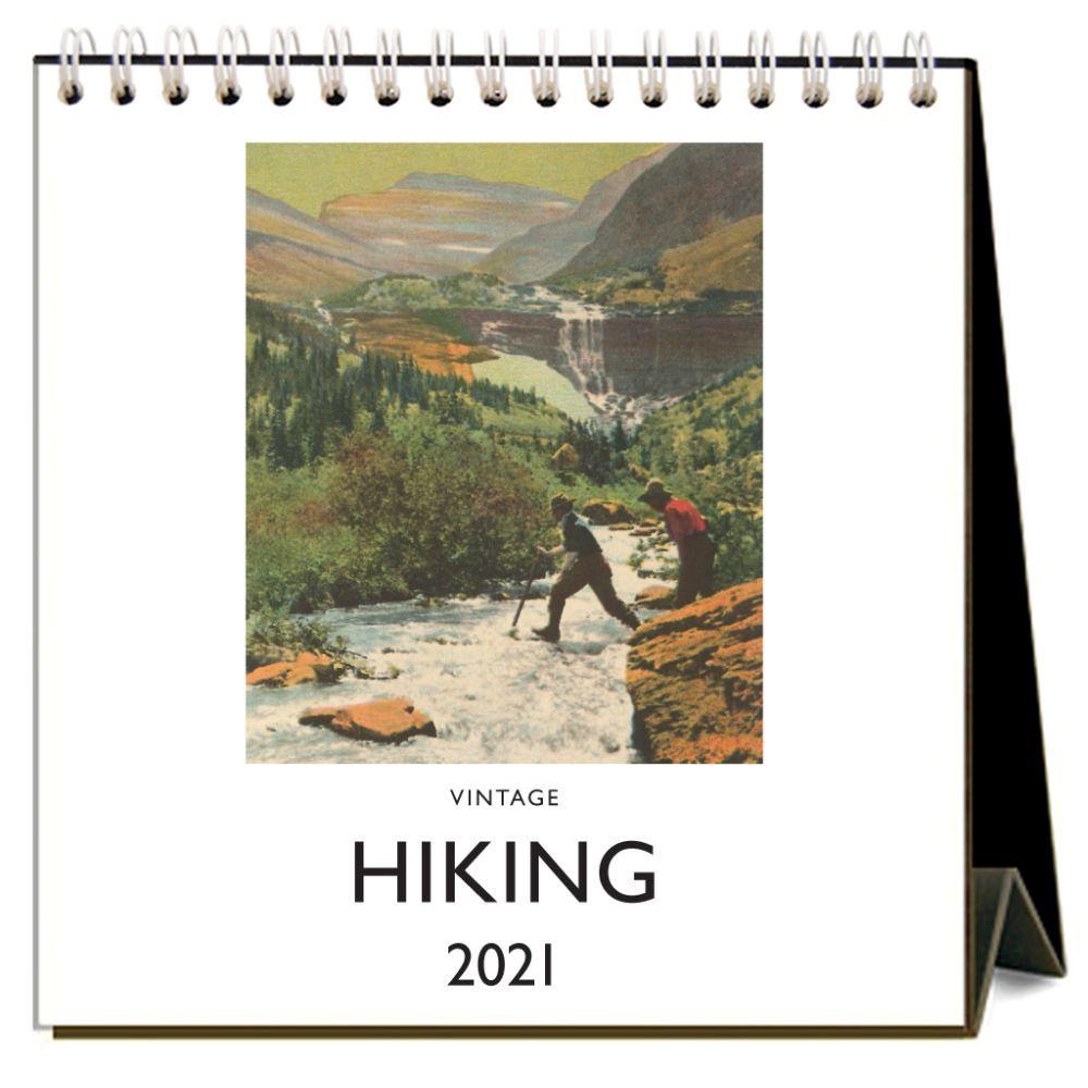 2021 Hiking Nostalgic Easel Calendar