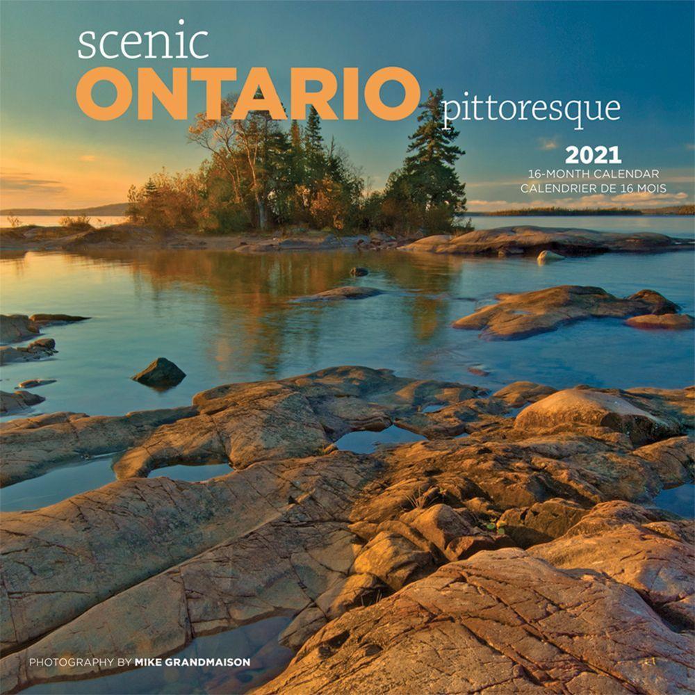 2021 Ontario Wild & Scenic Wall Calendar