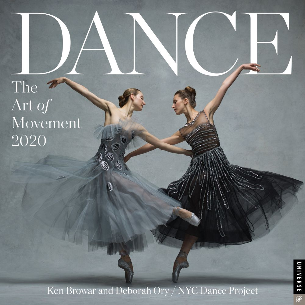 Dance the Art of Movement 2021 Wall Calendar