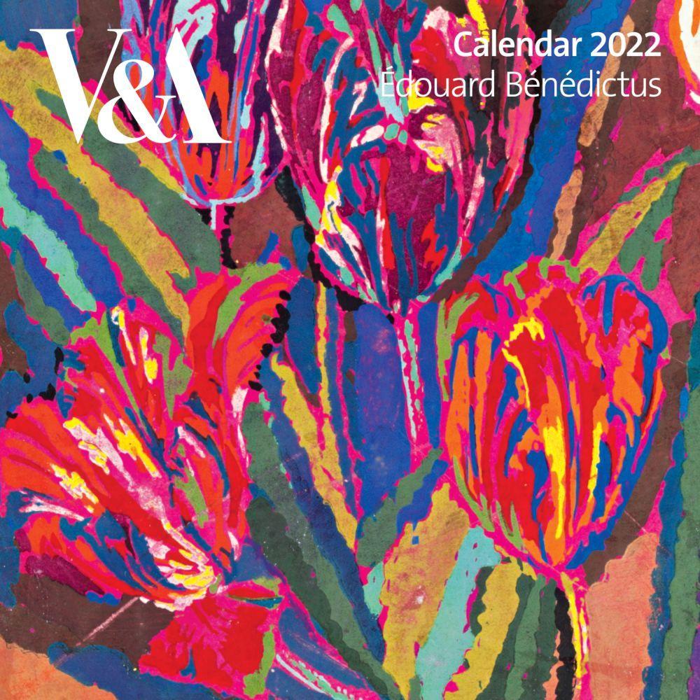 V & A Edouard Benedictus 2022 Wall Calendar