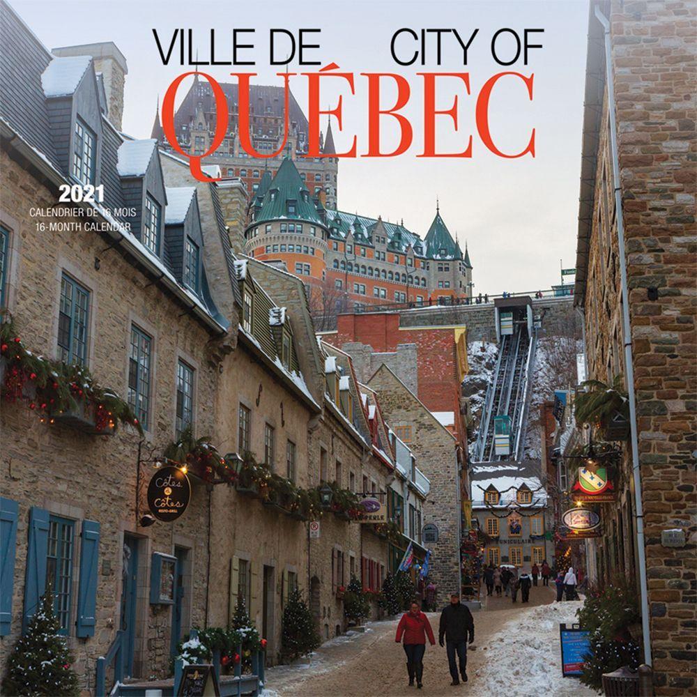 2021 Quebec City Ville de Quebec Wall Calendar (French)