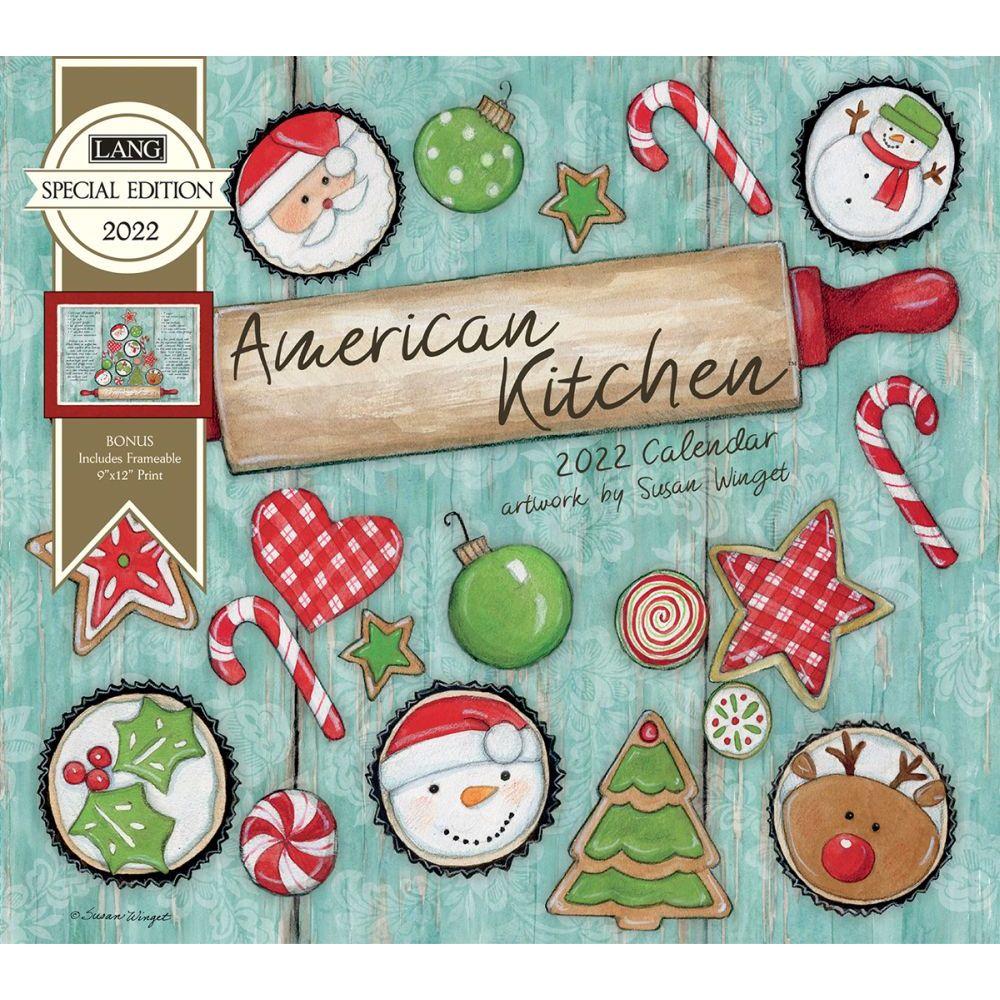 Susan Winget American Kitchen 2022 Wall Calendar