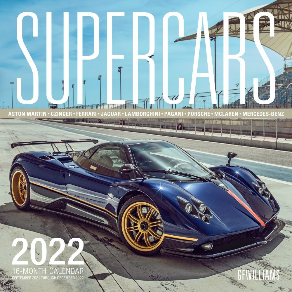 Supercars 2022 Wall Calendar