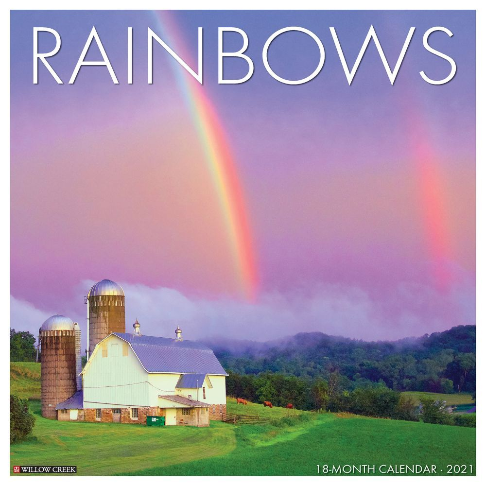 2021 Rainbows Wall Calendar