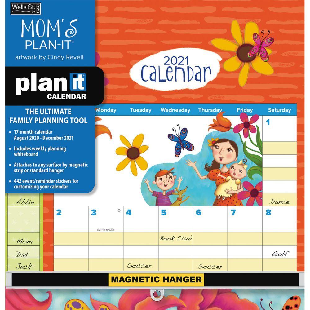 Mom's Plan-It Plus 2021 Wall Calendar