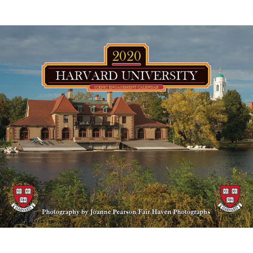 Harvard 2021 Calendar College and University Page