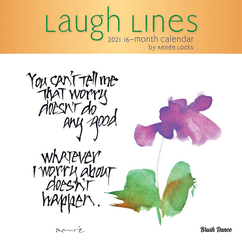 2021 Laugh Lines Wall Calendar