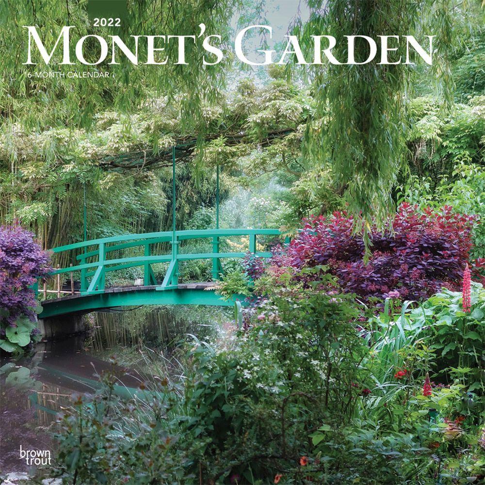 Monet's Garden 2022 Wall Calendar