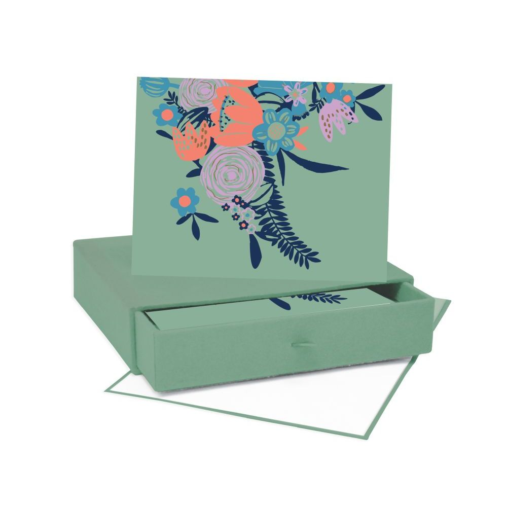 Rosemallow-Note-Cards-w/-Keepsake-Box-1