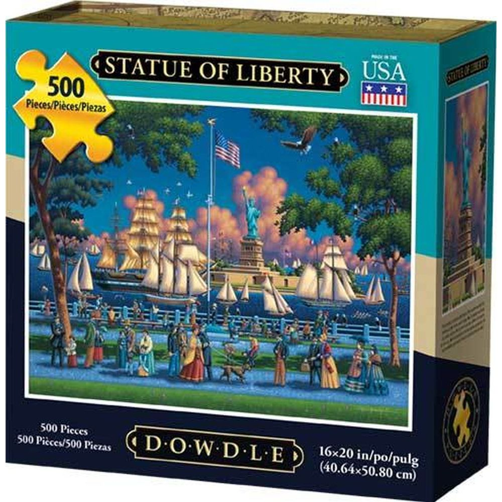 Best Statue of Liberty 500pc Puzzle You Can Buy