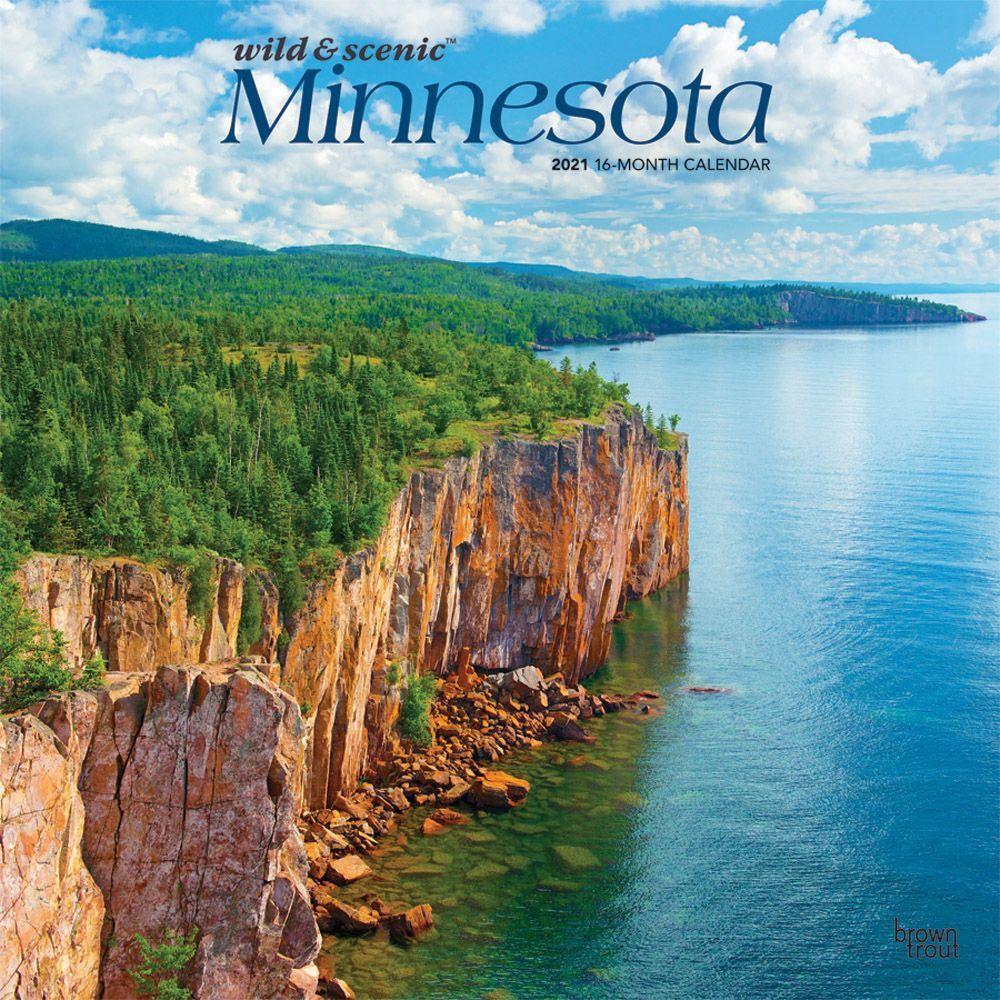 Minnesota Wild & Scenic 2021 Wall Calendar