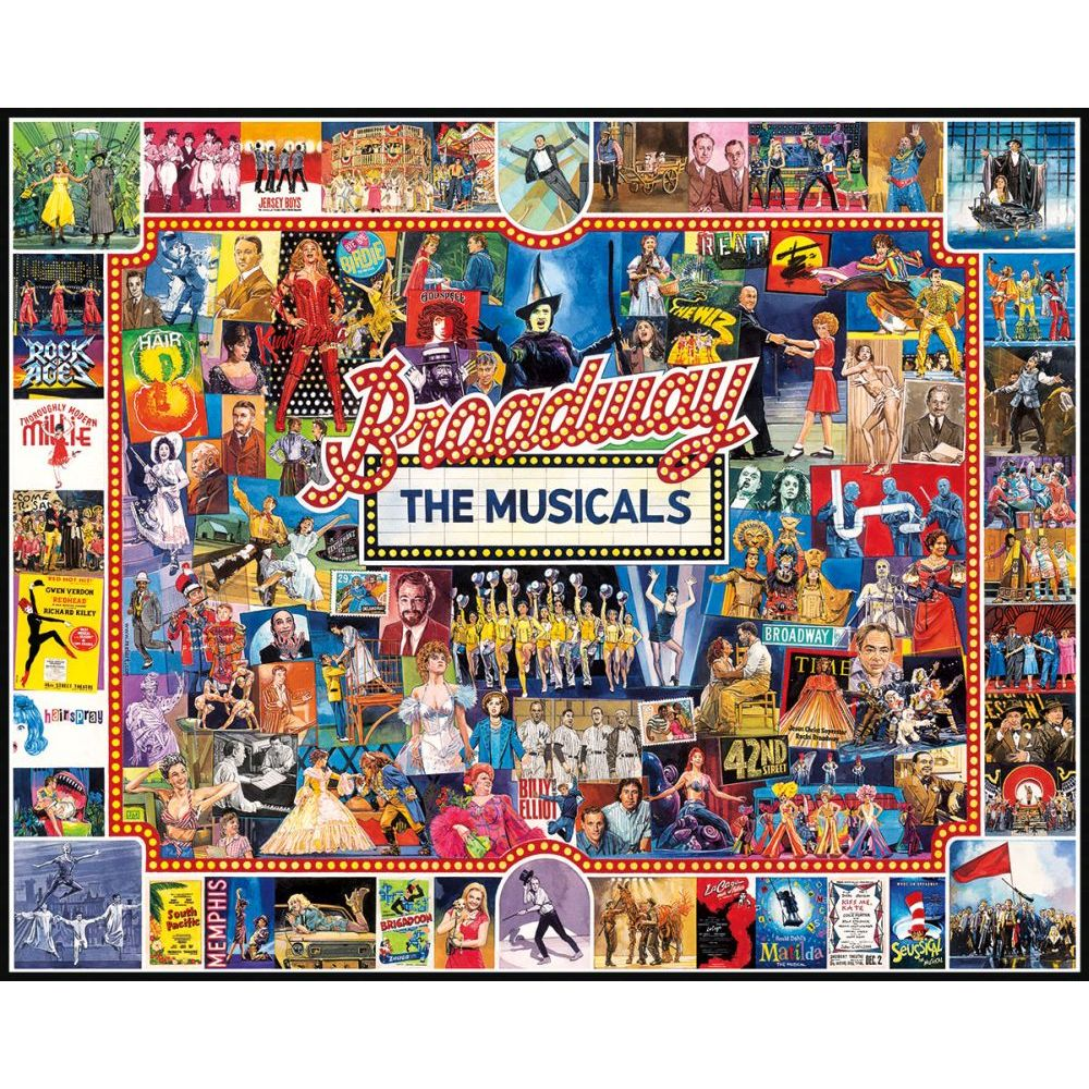 Best Broadway 1000pc Puzzle You Can Buy