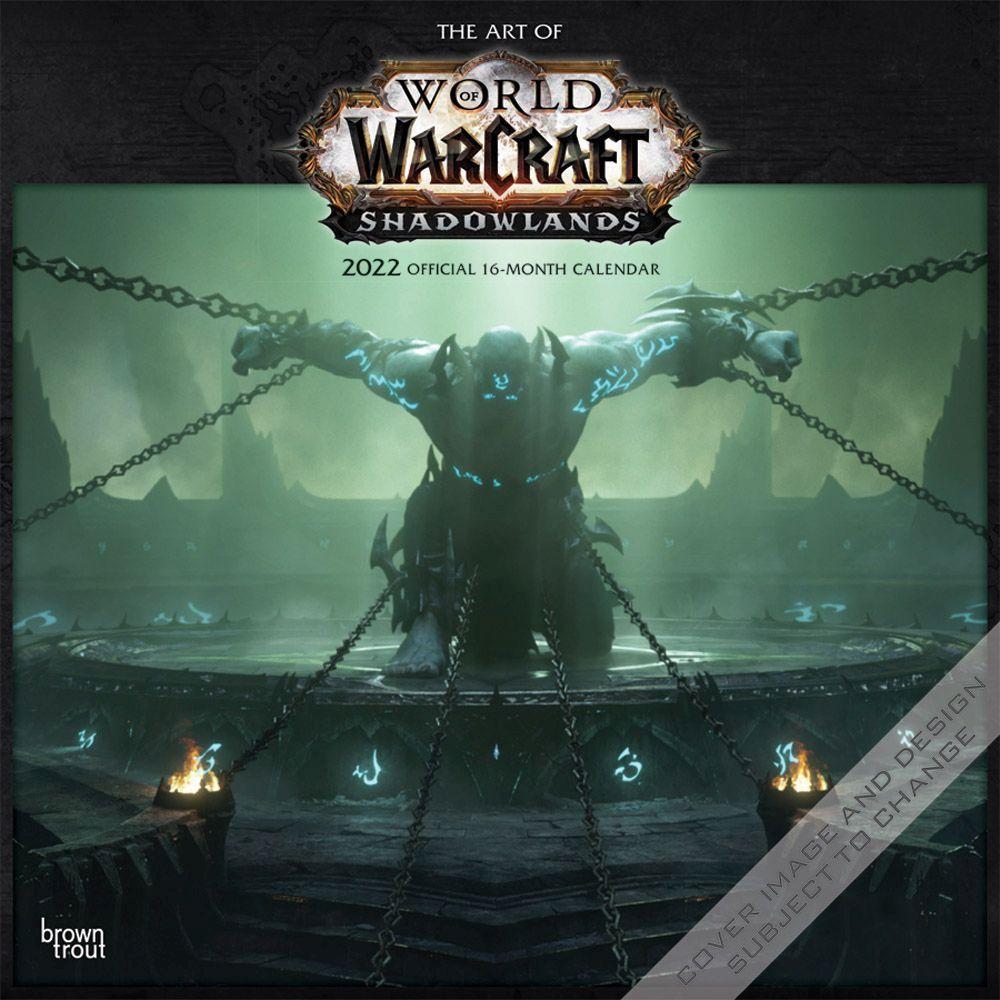 World of Warcraft 2022 Wall Calendar