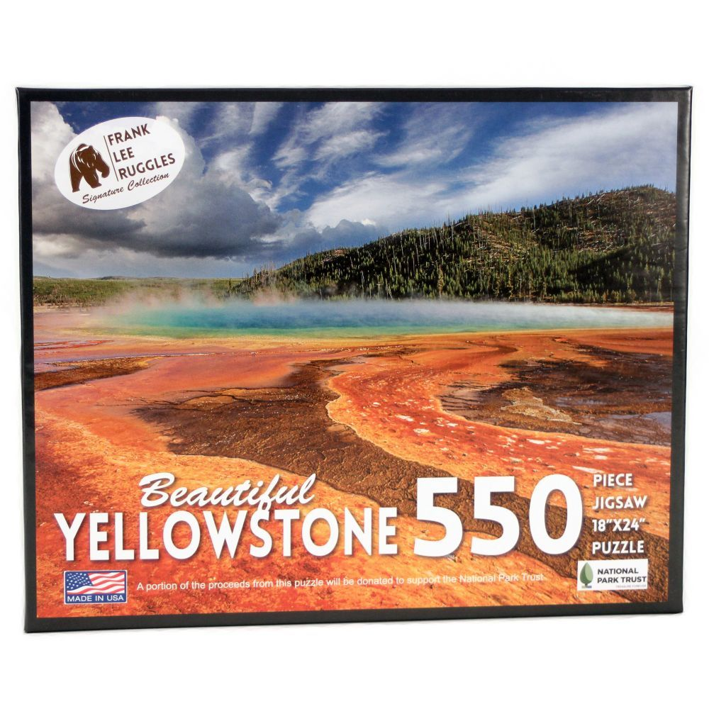 Best Yellowstone Ruggles 550 pc Puzzle You Can Buy