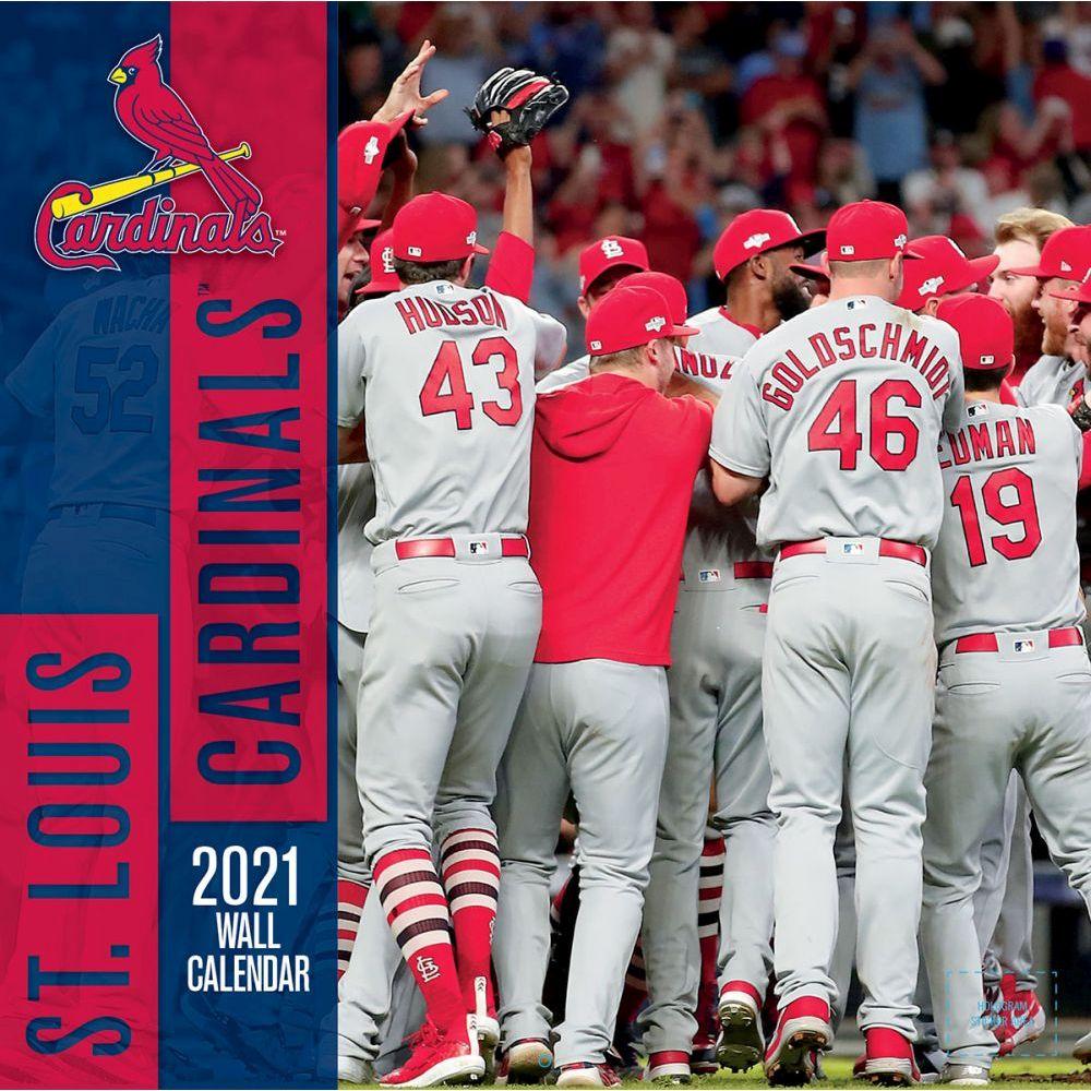 St. Louis Cardinals 2021 Wall Calendar