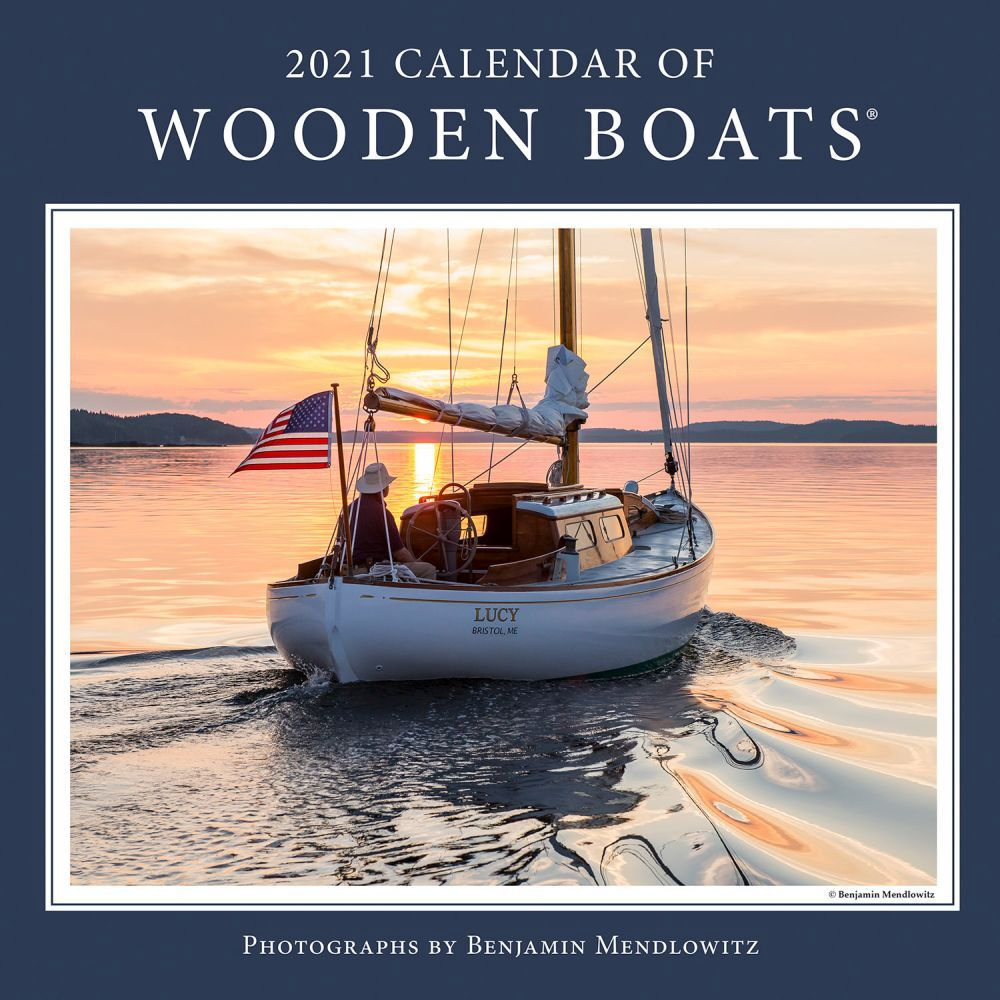 2021 Wooden Boats Wall Calendar