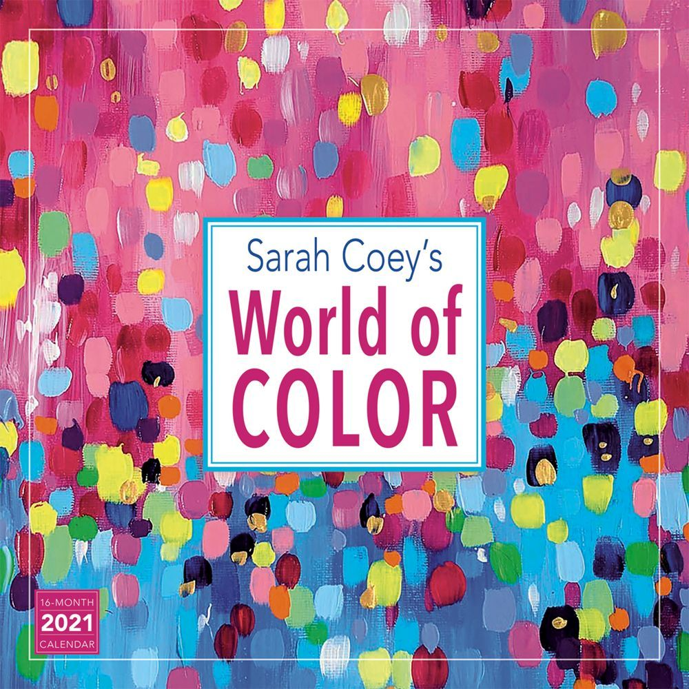 2021 Coeys World of Color Wall Calendar