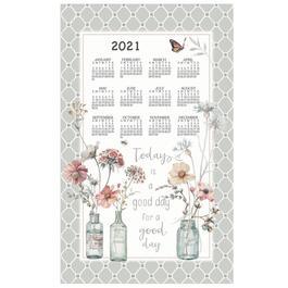 Handmade by Lisa 2021 Kitchen Towel Calendar