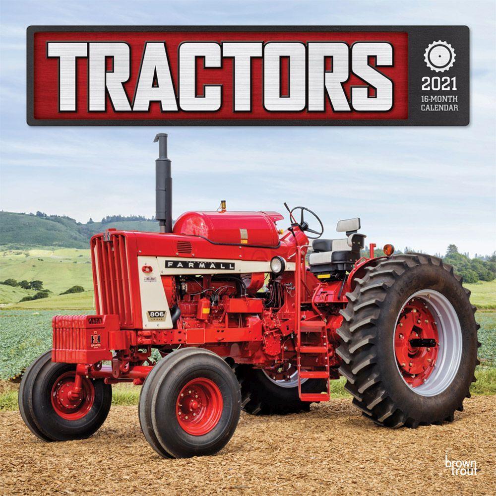2021 Tractors Wall Calendar