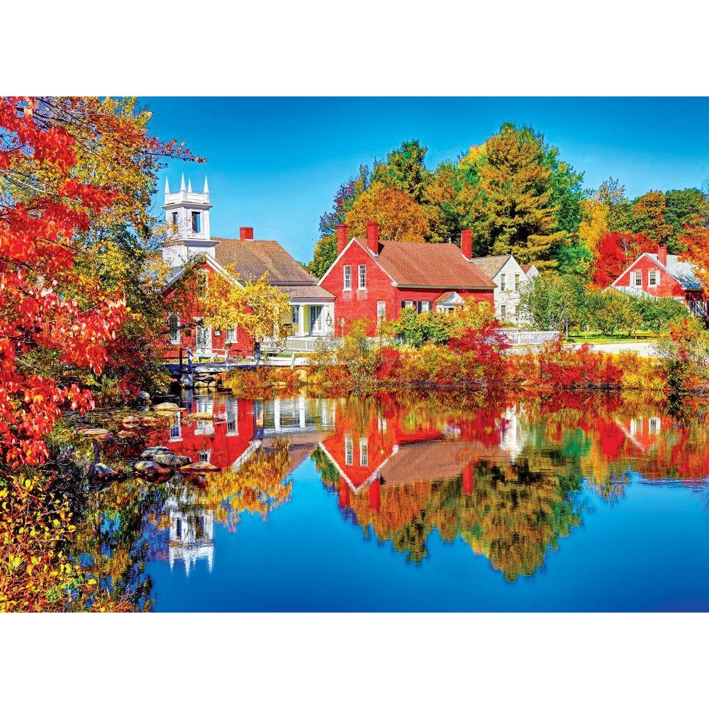 Best Kodak Autumn in Harrisville 1000pc Puzzle You Can Buy
