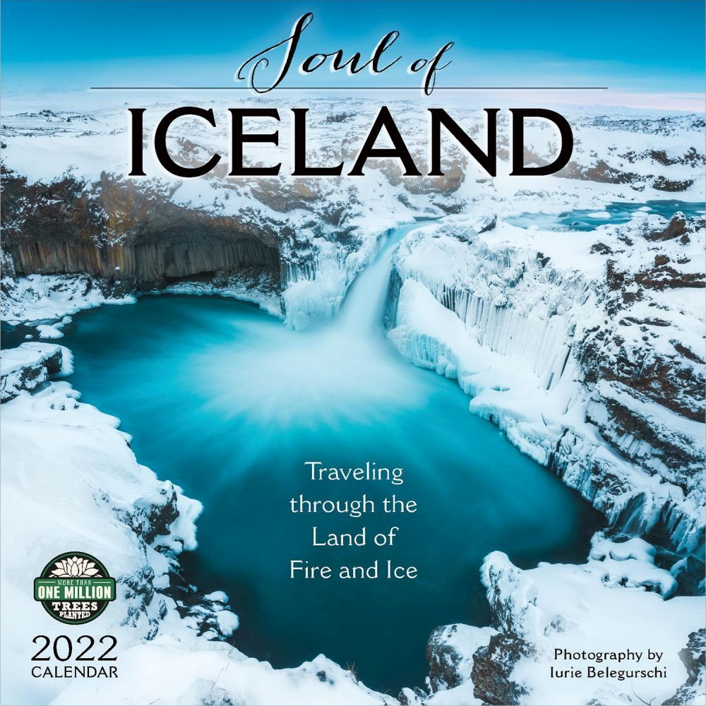 Iceland 2022 Wall Calendar