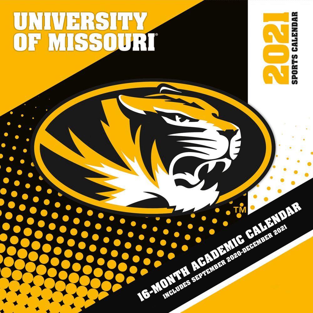 Missouri Tigers 2021 Wall Calendar