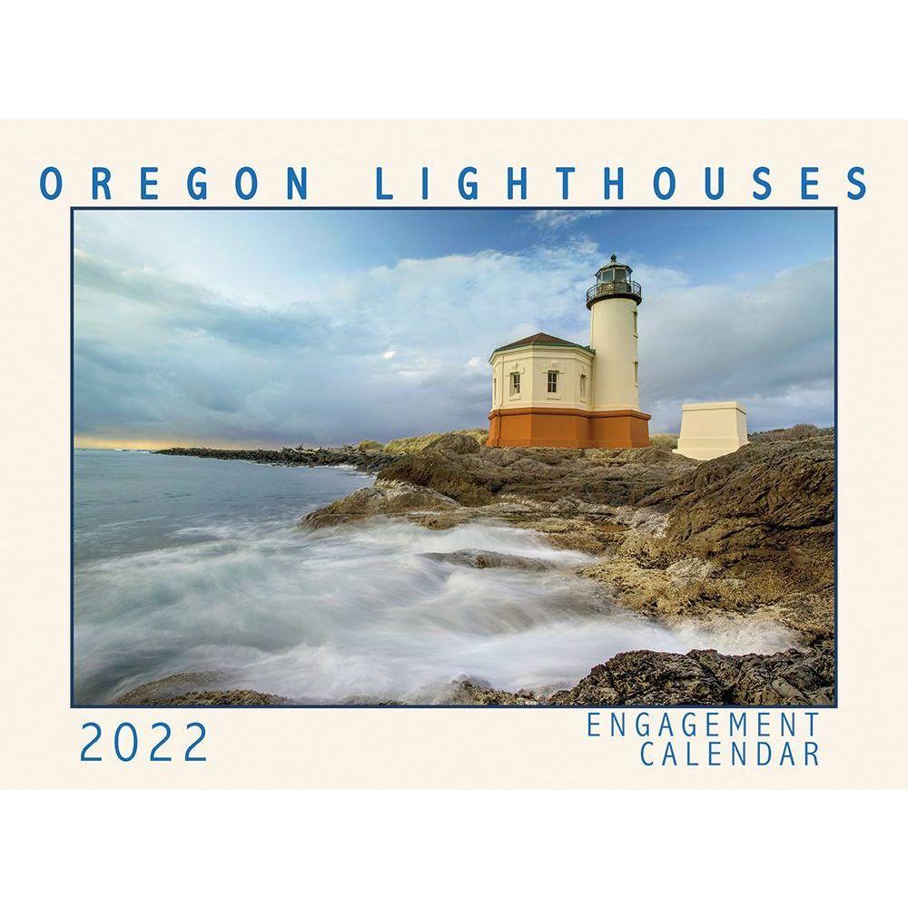 Oregon Lighthouses 2022 Wall Calendar