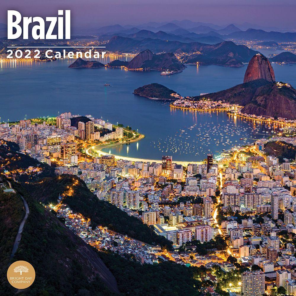 Brazil 2022 Wall Calendar