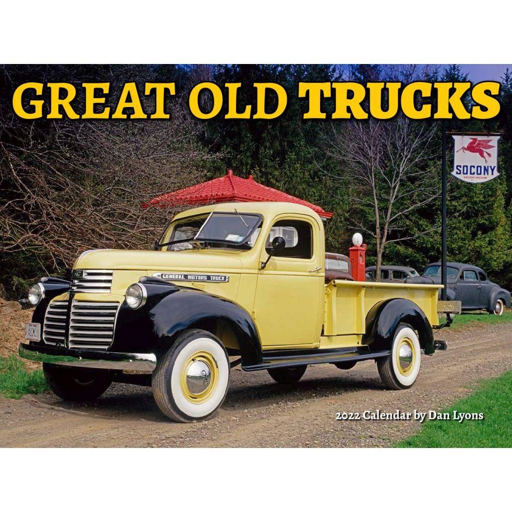 Great Old Trucks 2022 Wall Calendar