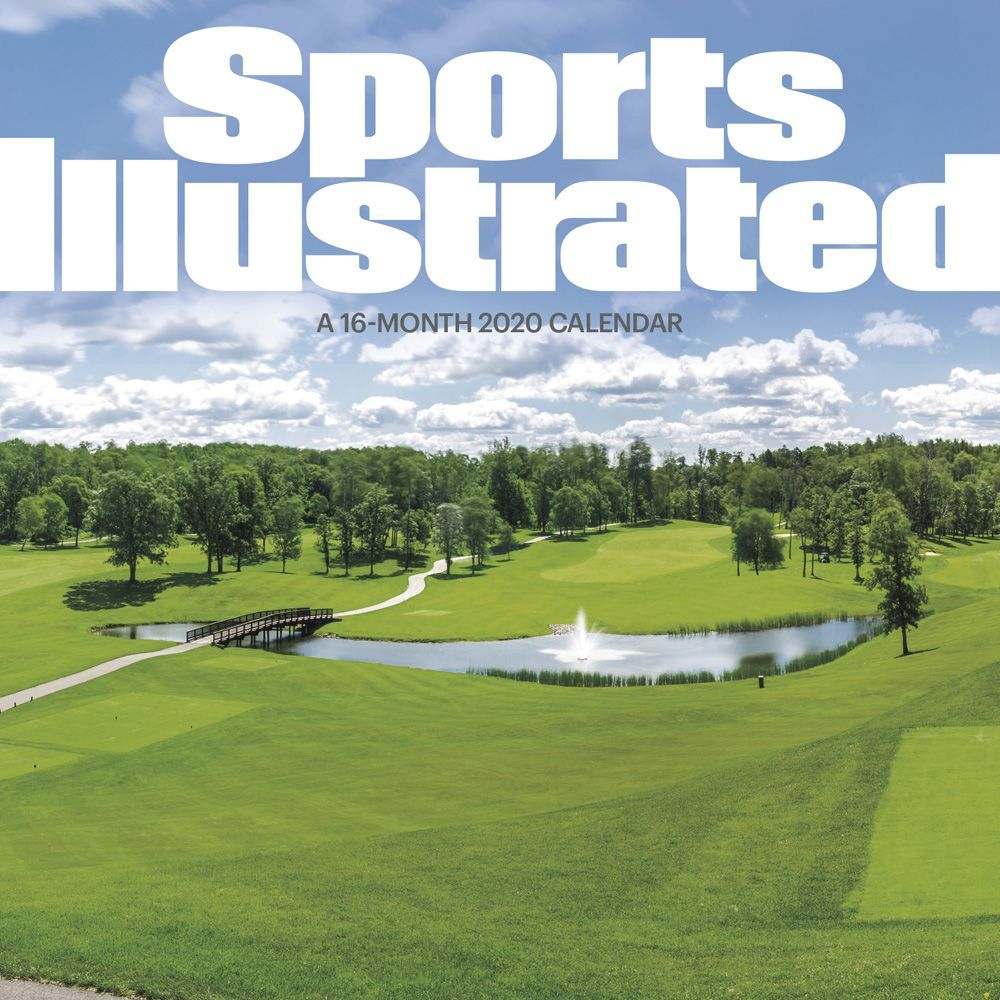 Sports Illustrated Golf Courses 2021 Wall Calendar